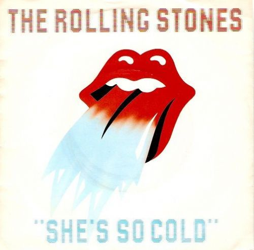 THE ROLLING STONES She's So Cold Vinyl Record 7 Inch Rolling Stones 1980